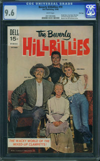 Beverly Hillbillies #19 - File Copy (Dell, 1969) CGC NM+ 9.6 WHITE pages
