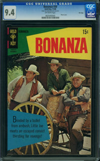 Bonanza #30 - File Copy (Gold Key, 1968) CGC NM 9.4 OFF-WHITE pages