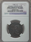 1795 1C Plain Edge -- Double Curved Clips, Environmental Damage -- NGC Details. VF. NGC Census: (3/80). PCGS Population:...