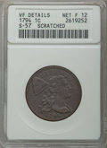Large Cents, 1794 1C Head of 1794, S-57, B-55, R.1, -- Scratched -- ANACS. VF Details, Net Fine 12. NGC Census: (0/14). PCGS Population ...