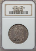 1807 50C Large Stars, 50/20 VF35 NGC. NGC Census: (17/174). PCGS Population (54/263). Mintage: 750,500. From The Ohio...