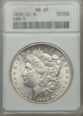 1890-CC $1 MS61 ANACS. VAM-5. NGC Census: (570/4061). PCGS Population (670/8805). Mintage: 2,309,041. From The Ohio