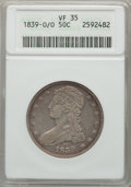1839-O 50C VF35 ANACS. NGC Census: (11/216). PCGS Population (41/320). Mintage: 116,000. From The Ohio Valley Collect...