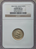 Civil War Patriotics, 1864 Our Country MS63 NGC. Fuld-56/229d, R.9....
