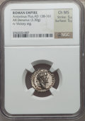 Ancients:Roman Imperial, Ancients: Antoninus Pius (AD 138-161). AR denarius (3.30 gm)....