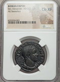 Ancients:Roman Imperial, Ancients: Severus Alexander (AD 222-235). Æ sestertius. ...