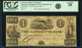 Obsoletes By State:Ohio, Cincinnati, OH - Lafayette Bank of Cincinnati $1 May 9, 1843Spurious Issue OH-75 S5, Wolka 0537-03. PCGS Very Fine 20.. ...