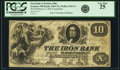 Obsoletes By State:Ohio, Ironton, OH - Iron Bank of Ironton, Ohio $10 ContemporaryCounterfeit Mar. 2, 1854 OH-240 C16, Wolka 1344-13. PCGS Very Fine2...
