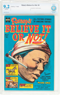 Ripley's Believe It or Not! #3 (Harvey, 1954) CBCS NM- 9.2 Off-white pages