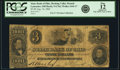 Obsoletes By State:Ohio, Lancaster, OH - State Bank of Ohio, Hocking Valley Branch $3 Aug.10, 1860 OH-5 G762 SENC, Wolka 1444-17. PCGS Fine 12 Apparen...