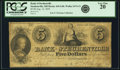 Obsoletes By State:Ohio, Steubenville, OH - Bank of Steubenville $5 Aug. 12, 1839 OH-410G40, Wolka 2474-13. PCGS Very Fine 20.. ...