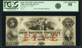 Obsoletes By State:Ohio, Tiffin, OH- Bank of the Ohio Savings Institute $5 Dec. 10, 1855AS-365 G14a, Wolka 2521-10. PCGS Choice About New 58.. ...