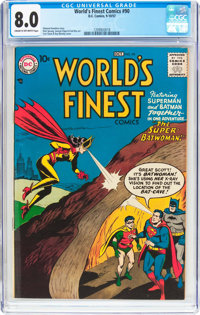 World's Finest Comics #90 (DC, 1957) CGC VF 8.0 Cream to off-white pages