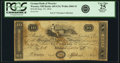 Obsoletes By State:Ohio, Wooster, OH - German Bank of Wooster $10 Sep. 25, 1816 OH-445 G34,Wolka 2868-24. PCGS Very Fine 25 Apparent.. ...