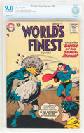 Silver Age (1956-1969):Superhero, World's Finest Comics #95 (DC, 1958) CBCS VF/NM 9.0 Off-white to white pages....