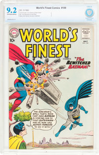World's Finest Comics #109 (DC, 1960) CBCS NM- 9.2 Off-white to white pages