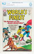 Silver Age (1956-1969):Superhero, World's Finest Comics #124 (DC, 1962) CBCS NM- 9.2 Off-white to white pages....