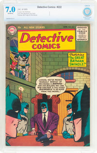 Detective Comics #222 (DC, 1955) CBCS FN/VF 7.0 Off-white pages