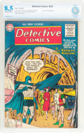 Golden Age (1938-1955):Superhero, Detective Comics #223 (DC, 1955) CBCS VF+ 8.5 Off-white to white pages....