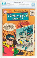 Silver Age (1956-1969):Superhero, Detective Comics #231 (DC, 1956) CBCS VF+ 8.5 Off-white to white pages....