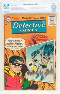 Detective Comics #231 (DC, 1956) CBCS VF+ 8.5 Off-white to white pages