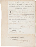 Autographs:U.S. Presidents, [Revolutionary War]. George Washington Military Discharge Signed...