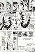 Original Comic Art:Panel Pages, Barry Smith and Sal Buscema Conan the Barbarian #7 StoryPage 20 Original Art (Marvel, 1971)....