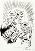 "Original Comic Art:Illustrations, John Romita Sr. ""Goblin Revealed"" Spider-Man/Green Goblin Illustration Original Art (undated)...."