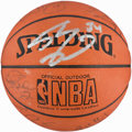 Basketball Collectibles:Balls, 2000-01 Los Angeles Lakers Team Signed Basketball - WorldChampionship Season!...