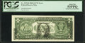 Error Notes:Offsets, Fr. 1933-K $1 2006 Federal Reserve Note. PCGS About New 53PPQ.. ...