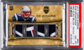 Football Cards:Singles (1970-Now), 2010 Topps Supreme Rob Gronkowski Rookie Quad Patch Numbered 1 of 1PSA NM-MT 8. ...