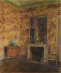 Fine Art - Painting, American:Antique  (Pre 1900), WALTER GAY (American 1856-1937). The Pink Room, Le Breau.Oil on canvas. 21-3/4 x 18 inches (55.2 x 45.7 cm). Signed at ...