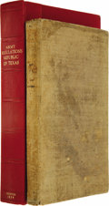 Books:Non-fiction, Palmer Job Pillans: Government of the Army of the Republic of Texas, Printed in Accordance with a Joint Resolution of Co...