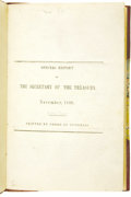 Books:Non-fiction, Republic of Texas: Special Report/of/The Secretary of theTreasury./November, 1839...
