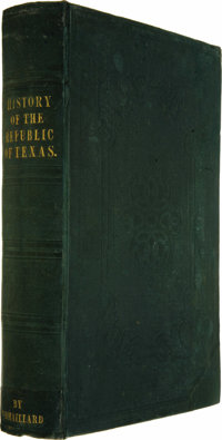 N. Doran Maillard: The History Of The Republic Of Texas, From The Discovery Of The Country to the Present Time;