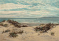 Fine Art - Painting, European:Antique  (Pre 1900), Sidney Eastlake (British, Late 19th Century). Dunes by theSea. Oil on canvas. 20 x 25-1/2 inches (50.8 x 64.8 cm).Sign...