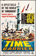 "Movie Posters:Science Fiction, Beyond the Time Barrier (American International, 1959). One Sheet(27"" X 41""). Science Fiction.. ..."