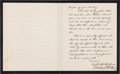 Autographs:U.S. Presidents, Chester Arthur Letter Signed as President on Executive MansionMourning Letterhead....