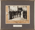 Autographs:Inventors, Wilbur and Orville Wright Signed Photograph, Also Signed by President William H. Taft ...