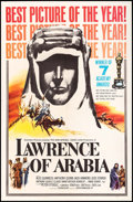 "Movie Posters:Academy Award Winners, Lawrence of Arabia (Columbia, 1963). One Sheet (27"" X 41"") Style D. Academy Award Style.. ..."