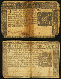 Colonial Notes:New York, New York September 2, 1775.. ... (Total: 2 notes)
