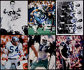 Football Collectibles:Photos, Dallas Cowboys Greats Signed Photographs Lot of 6....