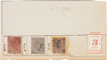 Miscellaneous:Ephemera, Confederate-era Postage Stamps from Nashville, Tennessee....