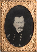 Photography:Tintypes, General Philip Sheridan: Gem Tintype....
