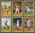Autographs:Bats, Baseball Greats Signed Perez Steele Cards Lot of 9. ...