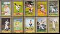 Baseball Collectibles:Photos, Baseball Greats Signed Perez Steele Cards Lot of 10. ...