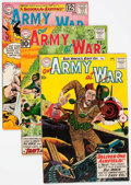 Silver Age (1956-1969):War, Our Army at War Group of 23 (DC, 1960-77) Condition: Average FN....(Total: 23 Comic Books)