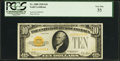Small Size:Gold Certificates, Fr. 2400 $10 1928 Gold Certificate. PCGS Very Fine 35.. ...