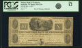Obsoletes By State:Tennessee, Nashville, TN - Planters Bank of Tennessee $10 Jan. 4, 1837 TN-185 G22a SENC, Garland 997. PCGS Fine 12.. ...