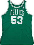 Basketball Collectibles:Uniforms, 1990's Joe Kleine Game Worn Boston Celtics Jersey. ...
